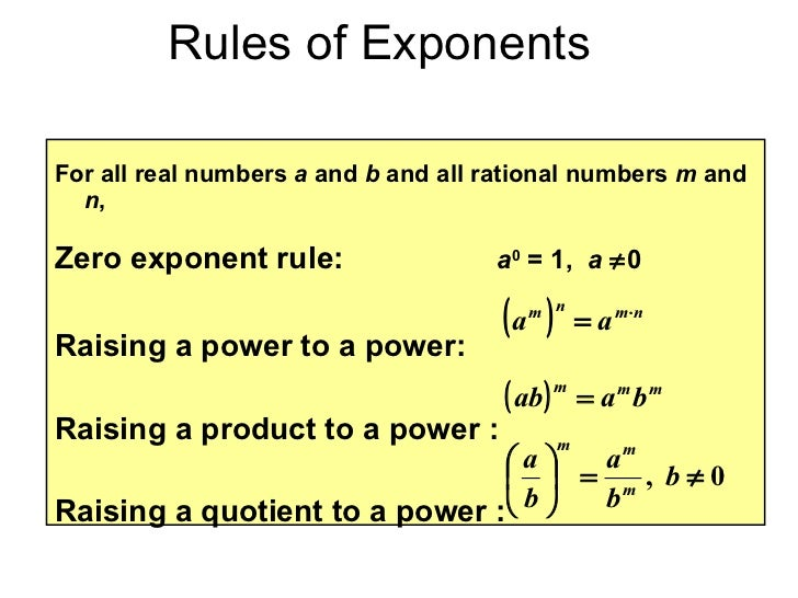 property of exponents worksheet