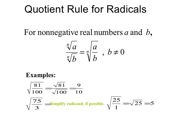 Simplifying radical expressions rational exponents radical equations – Solve Radical Equations Worksheet