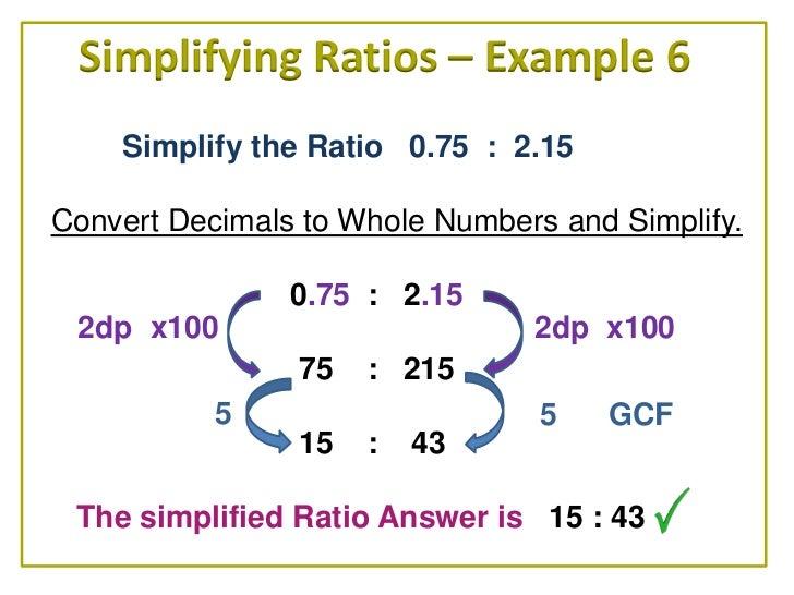 Simplify Decimal Fractions - descargardropbox