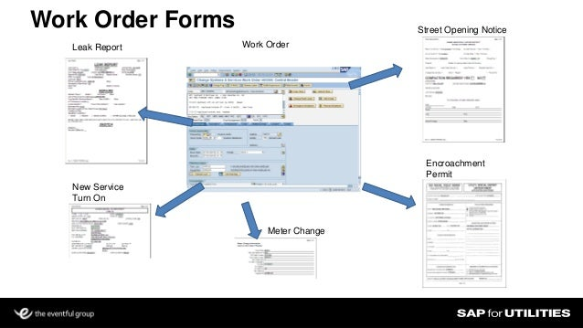 service work order template excel