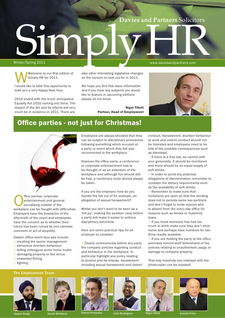 simply hr newsletter winter 10 11 email