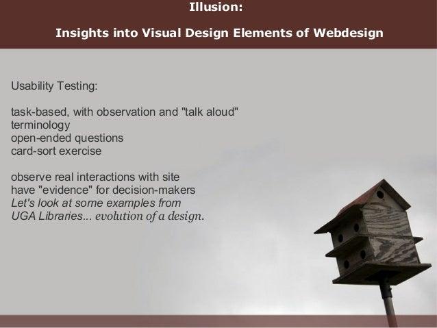 Stanford Web Design Transparency