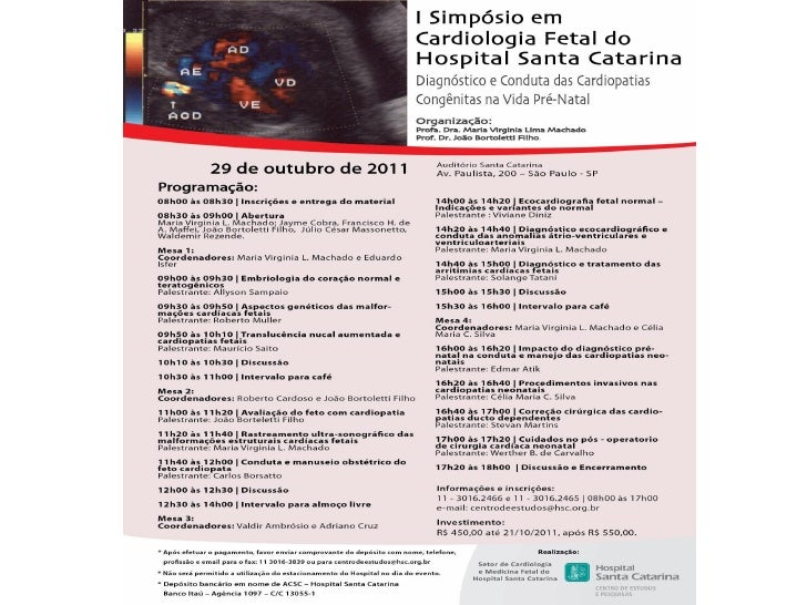 Simposio de Cardiología Fetal en Brasil