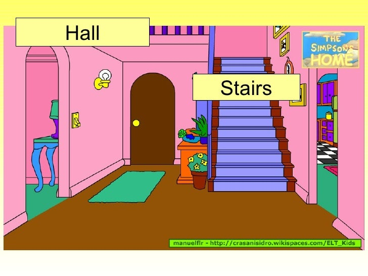 Hall Stairs; 7.