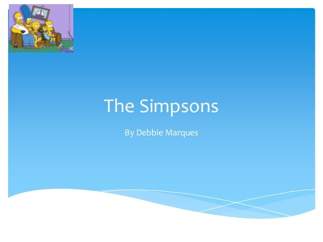 The SimpsonsBy Debbie Marques