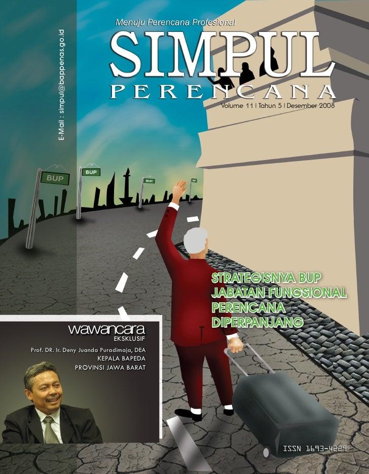 E-Mail : simpul@bappenas.go.id                                                                      Volume 11   Tahun 5   ...