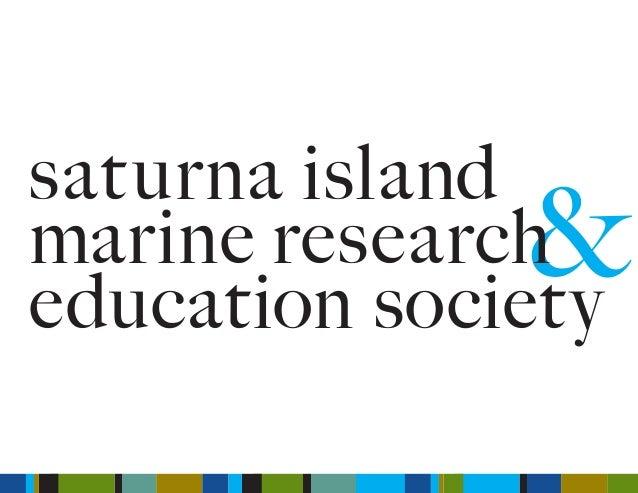 & saturna island marine research education society