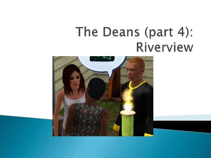 Sims 3 The Deans (part 4)