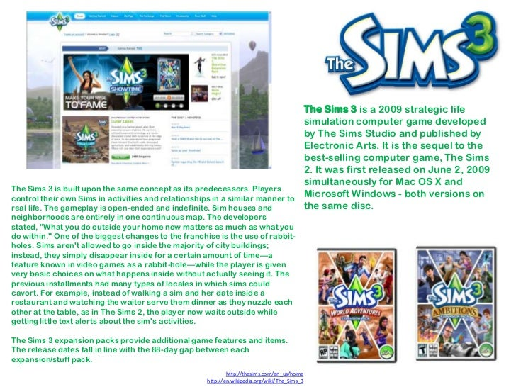 Sims research
