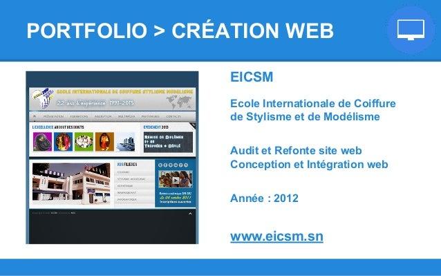 EICSM Ecole Internationale de Coiffure de Stylisme et de Modélisme Audit et Refonte site web Conception et Intégration web...