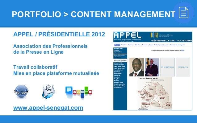 APPEL / PRÉSIDENTIELLE 2012 Association des Professionnels de la Presse en Ligne Travail collaboratif Mise en place platef...