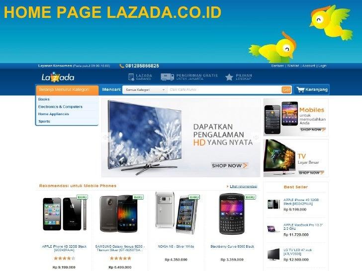 SLIDE E-COMMERCE Pada Perusahaan LAZADA Indonesia