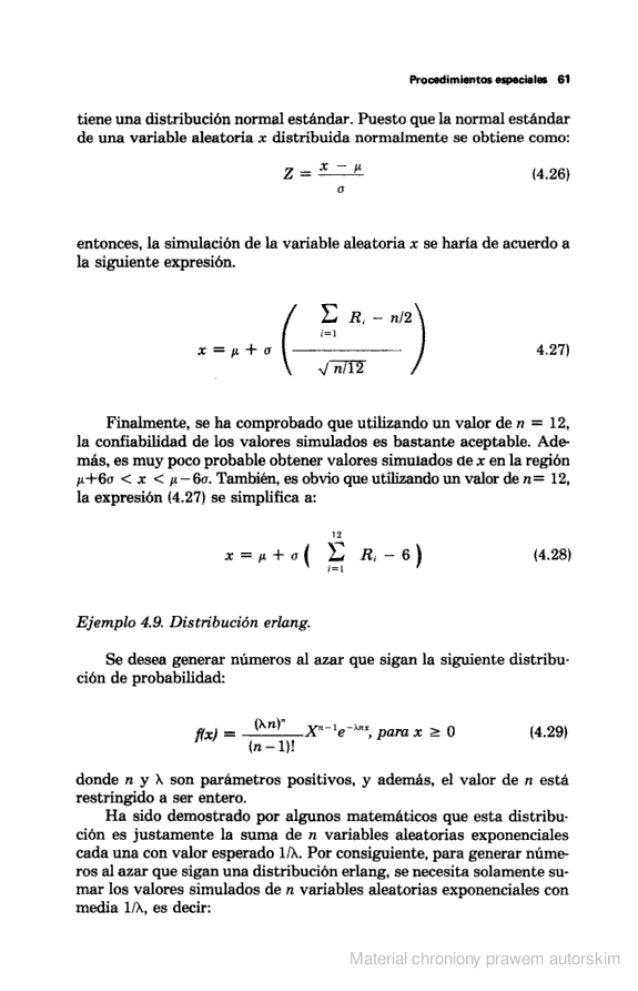 Procedimientos especiales B1  tiene una distribución normal estándar.  Puesto que la normal estandar de una variable aleat...