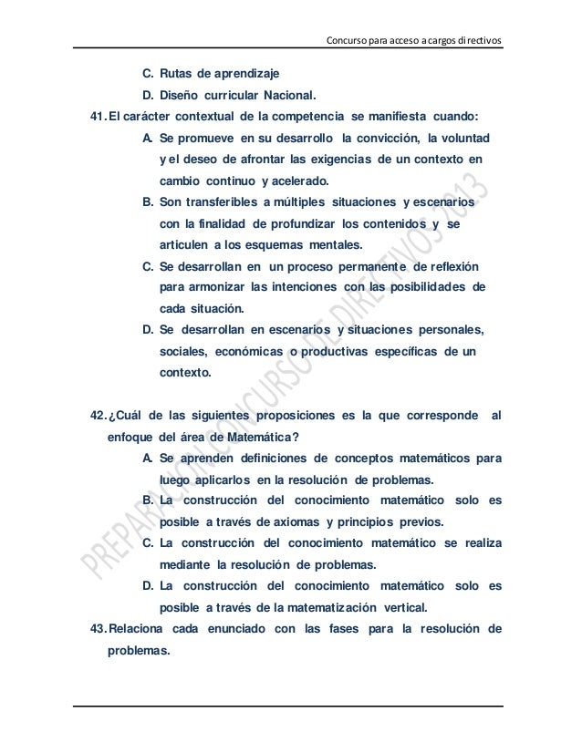 Simulacro de examen docente 100 preguntas de casos pedagogicos subi…