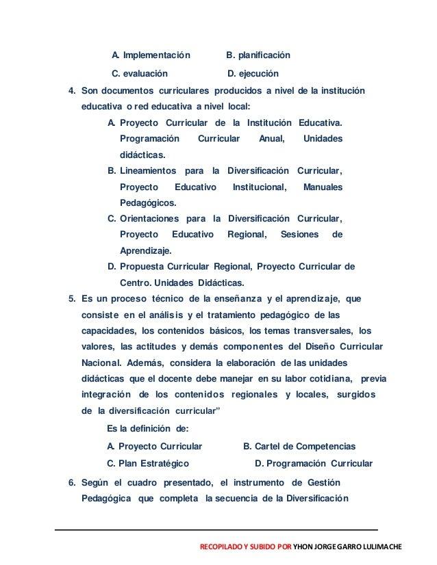 Simulacros de exámenes docentes con  742 casos pedagógicos y otros    subido por Yhon Jorge Garro.L- 18-01-2015 Slide 2