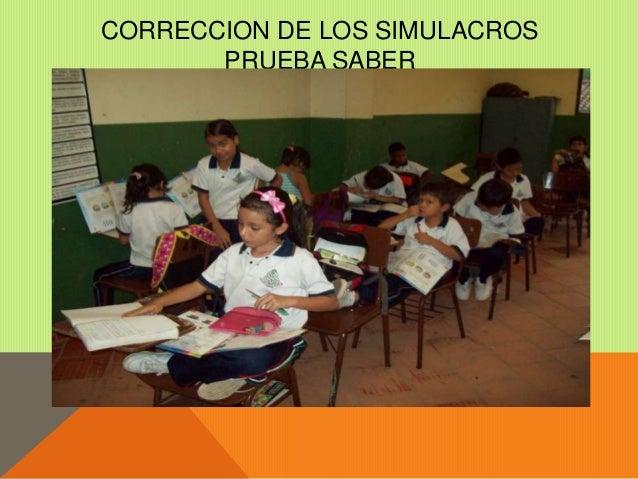 SIMULACROS PRUEBAS SABER  Slide 2