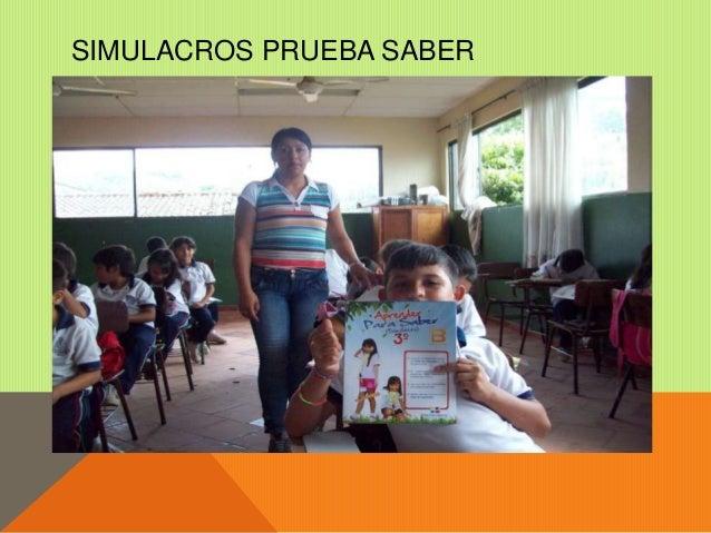 SIMULACROS PRUEBAS SABER  Slide 3