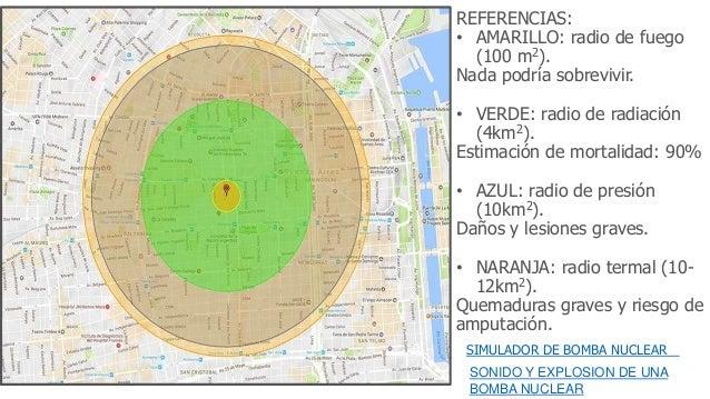 Simulador de bombas nucleares