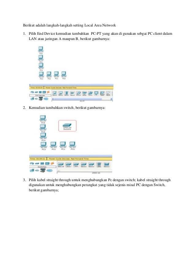 Simulasi jaringan packet tracer Slide 3