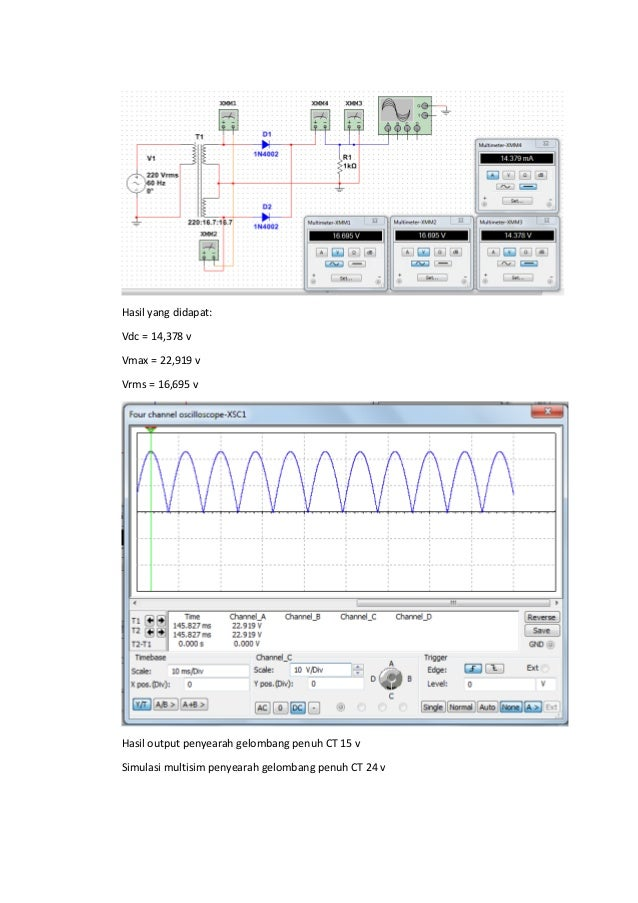Simulasi multisim rectifier ccuart Image collections