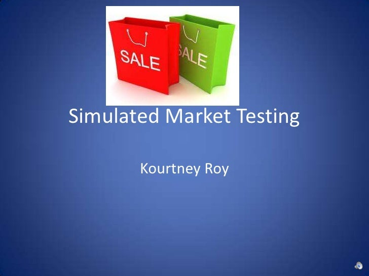 "simulated test marketing Simulated test marketing (stm) is a common practice employed by these companies to forecast new product sales nonetheless, emerging markets represent only a small portion of the global stm business a possible explanation is that currently existing models are built in the assumption of ""western"" market and are not yet sufficiently."