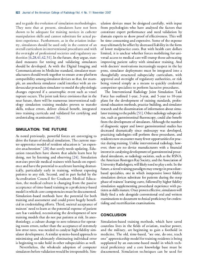 and to guide the evolution of simulation methodologies. They note that at present, simulators have not been shown to be ad...