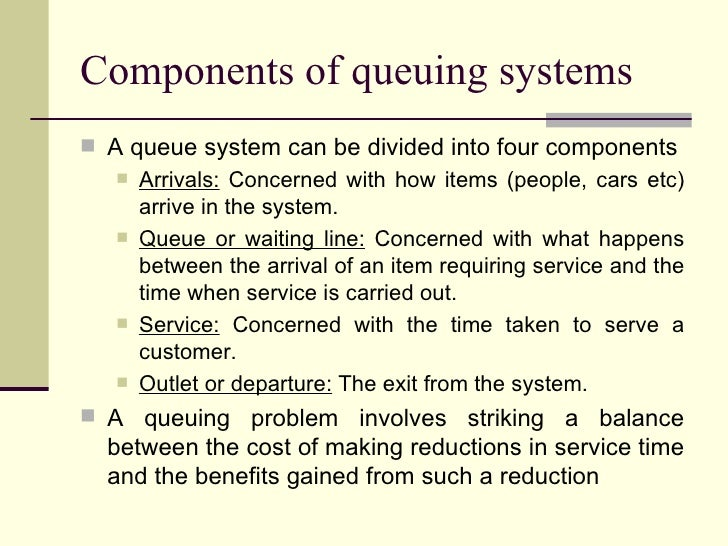 queuing problems in banks Nowhere are queues more apparent and aggressive than in banks but the  if  queues in banks today are the problem, why not remove them.