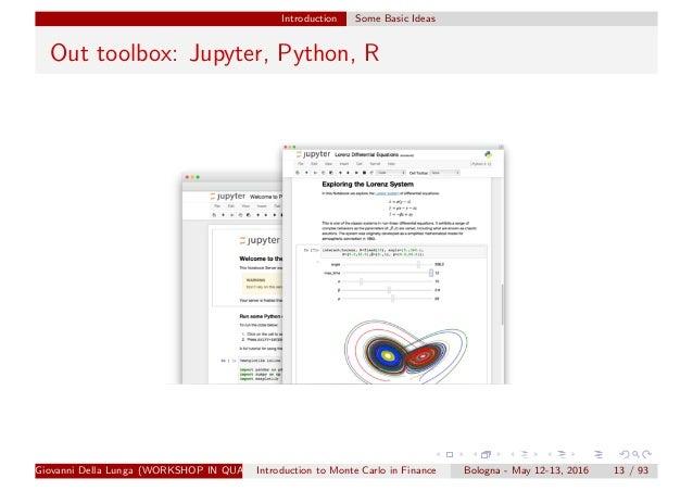 Simulation methods finance_1