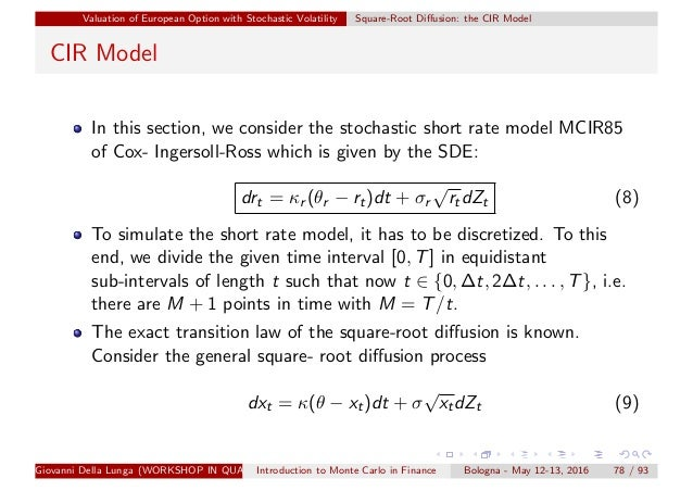Simulation methods finance_1