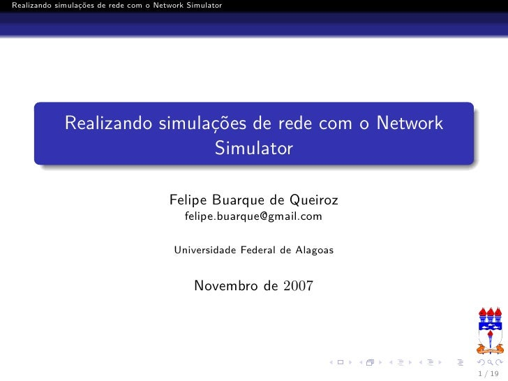 Realizando simulações de rede com o Network Simulator                  Realizando simulações de rede com o Network        ...