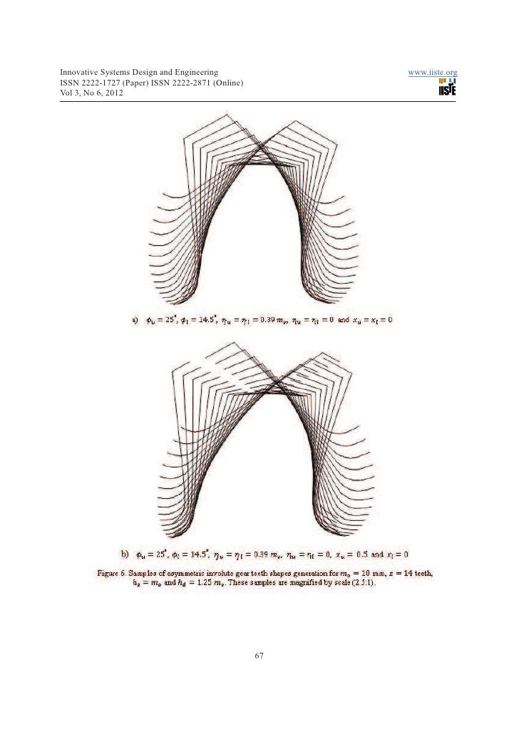how to draw involute gear tooth profile