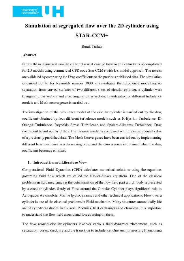 star ccm+ thesis