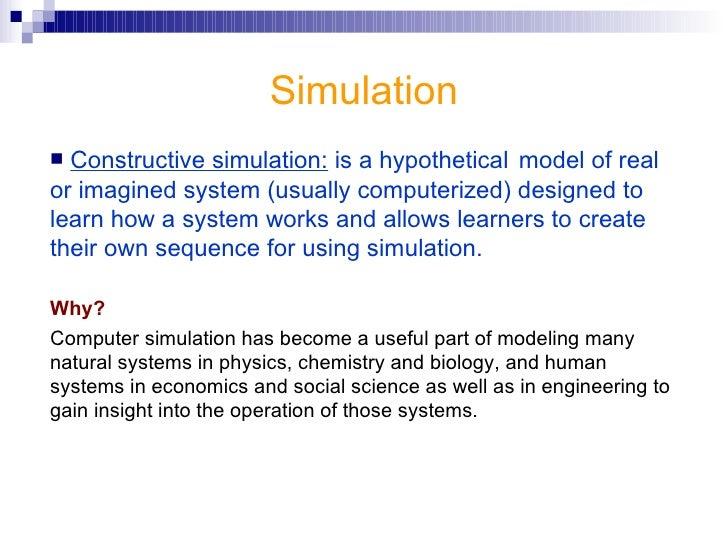 <ul><li>Thank you </li></ul>Simulation in Education
