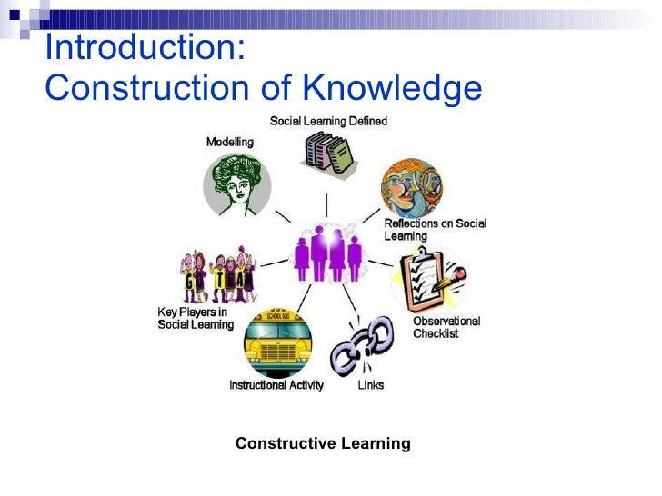 Introduction:   Construction of Knowledge Constructive Learning