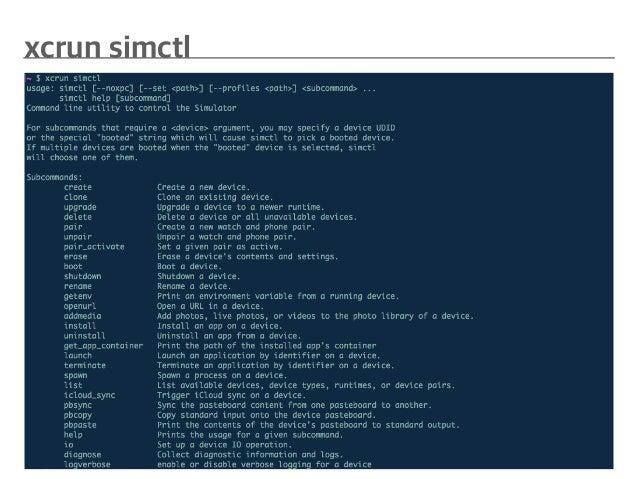 Simulator customizing & testing for Xcode 9