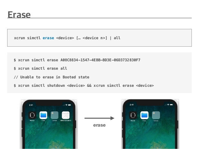 Simulator customizing & testing for Xcode 9