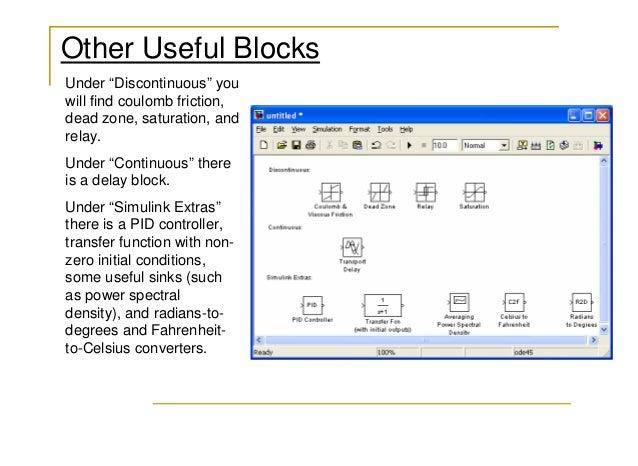 32  other useful blocks