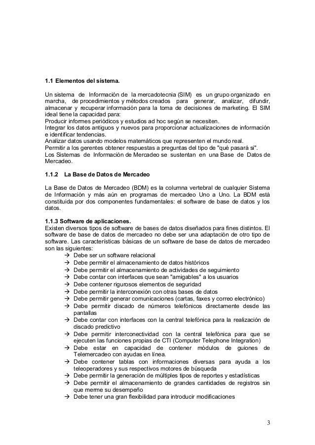 Sistemas de Informacion de la mercadotecnia unidad 1 Slide 3