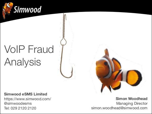 Simon Woodhead Managing Director simon.woodhead@simwood.com Simwood eSMS Limited https://www.simwood.com/  @simwoodesms  ...