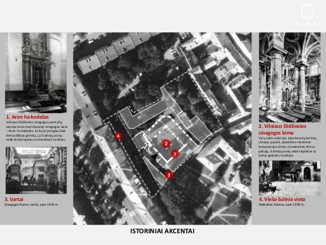 1. Aron ha kodešas Vilniaus Didžiosios sinagogos pietryčių sienoje buvo švenčiausioji sinagogos vieta – Aron ha kodešas. J...