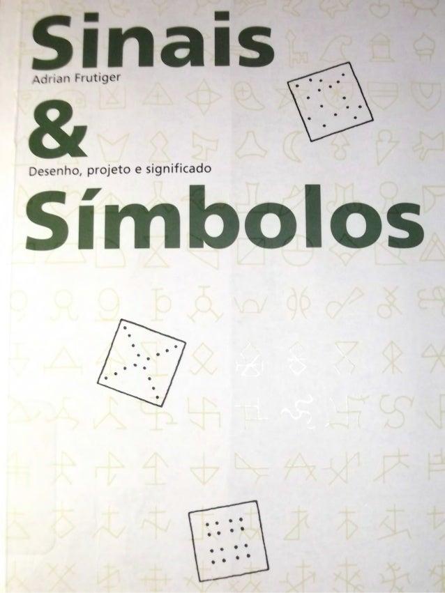 Livro Sinais e símbolos de Adrian Frutiger