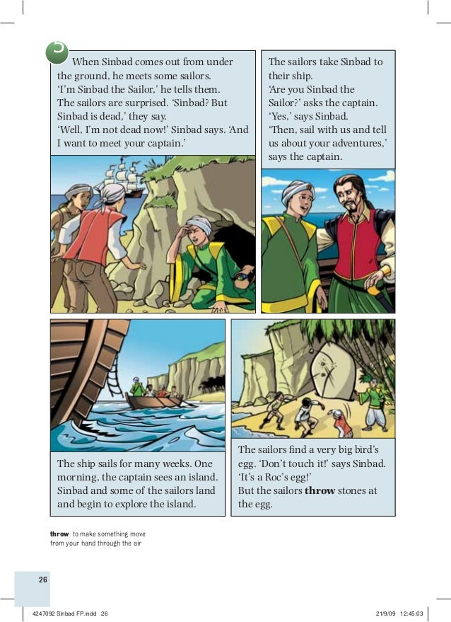 the story of sindbad the sailor