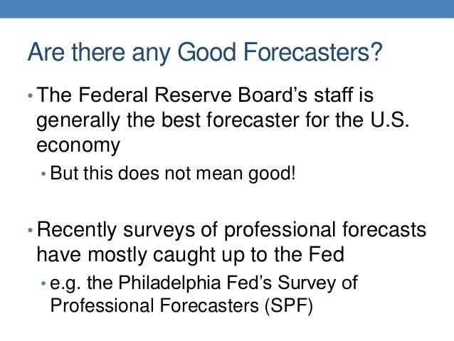 Sinclair macro economicforecasting