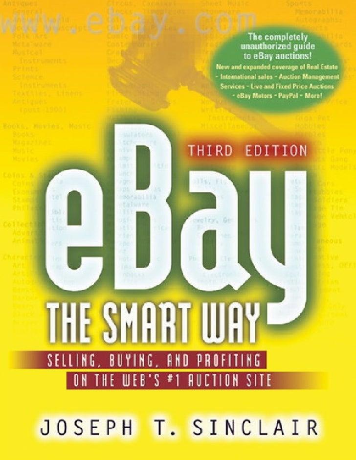 eBay the Smart Way           Third Edition