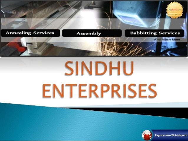 """ Backed by a rich industry experience, our organization, """"Sindhu Enterprises"""", has earned profit across the nation for it..."""