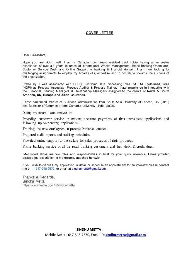 cover letter dear uk