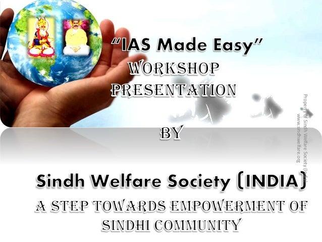 PropertyofSindhWelfareSociety(India) www.sindhwelfare.org