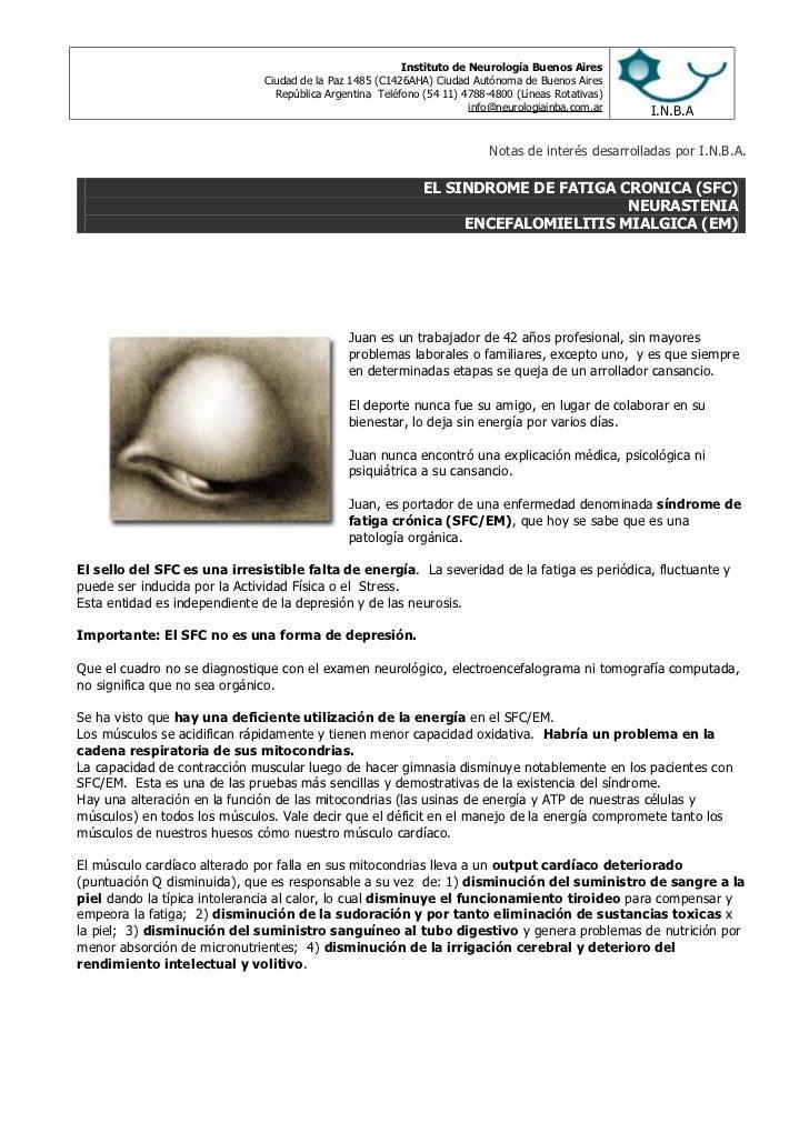 Instituto de Neurología Buenos Aires                              Ciudad de la Paz 1485 (C1426AHA) Ciudad Autónoma de Buen...