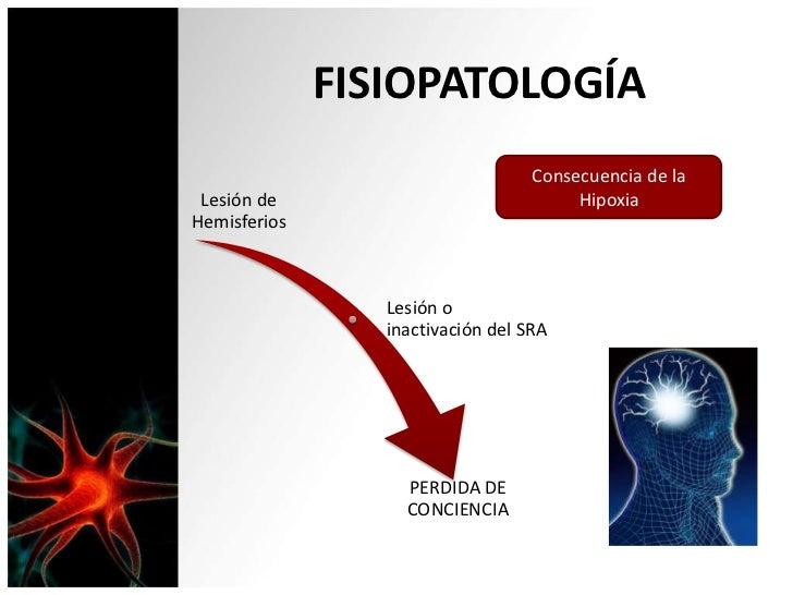 FISIOPATOLOGÍA                                   Consecuencia de la Lesión de                              HipoxiaHemisfer...
