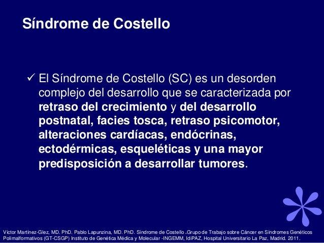 Sindrome de costelo Slide 2